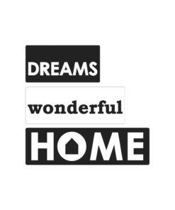 Seifenlabel Dreams, zum Eingießen von Motiven