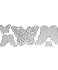 Stanzschablone Set Schmetterlinge
