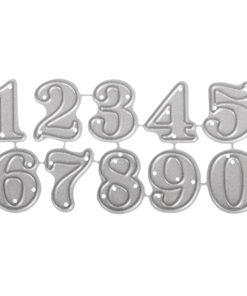 Stanzschablone Set Kleine Zahlen