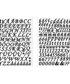 Rayher Sticker Alphabet und Zahlen