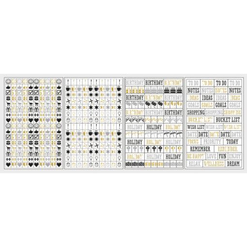 Rayher Sticker für Scrapbooking und Planer