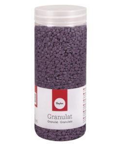 Deko Granulat in lavendel