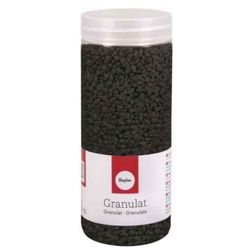 Deko Granulat in schwarz