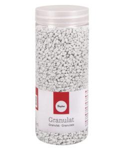 Deko Granulat in weiß
