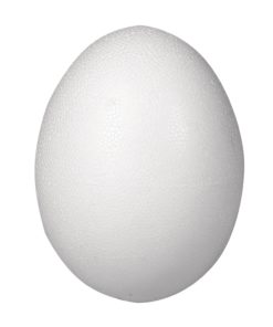 Rayher Styropor-Ei Halbschalen, 26cm, zum Basteln