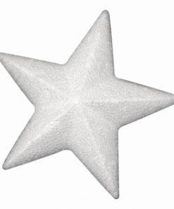 Rayher Styropor-Stern,10cm, zum Basteln