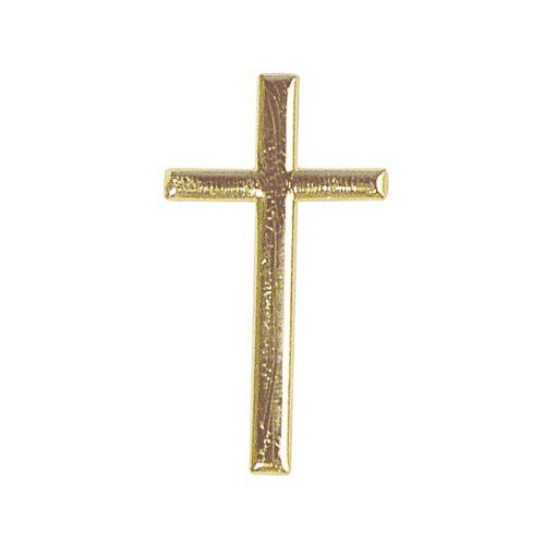Wachsdekor Kreuz, zum Dekorieren, in gold