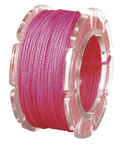 Wachskordel mit Nylonkern, 0,6mm ø in pink