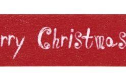 Rayher Washi Tape Merry Christmas