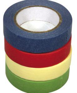 Washi-Tape Set 4 Unifarben 15mm x 15m