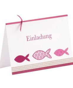 Rössler Karte Einladung Emilia, zur Anlassgestaltung