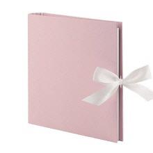 Fotoringbuch in rosé