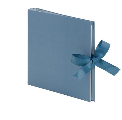 Fotoringbuch in smokey blue