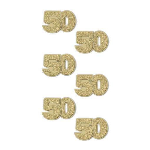 Rössler Handmade Sticker, Zahl 50
