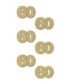 Rössler Handmade Sticker, Zahl 60