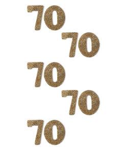 Rössler Handmade Sticker, Zahl 70