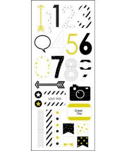Rössler Handmade Sticker, Zahl 0-9