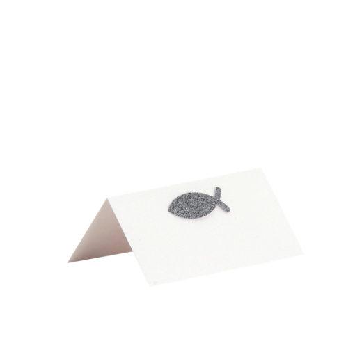 Rössler Tischkarte Como, 100x100mm zur Anlassgestaltung