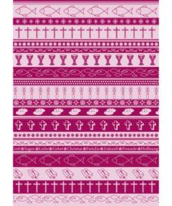 Ursus Transparentpapier Symbol-Mix A4, Amarena