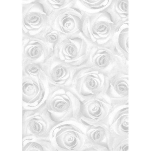 Ursus Transparentpapier Soft Roses, Weiß