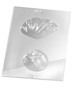Rayher Gießform Muschel, für Seife + Gießpulver