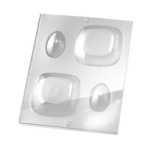 Rayher Gießform 3D rund, für Seife + Gießpulver