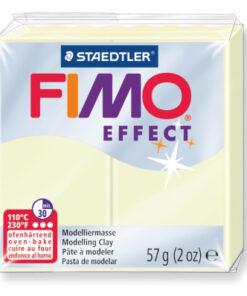 Ofenhärtende Modelliermasse Fimo, nachtleuchtend
