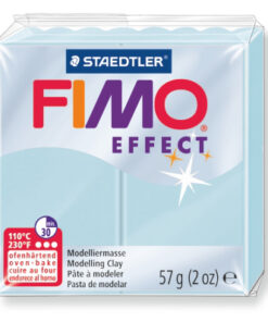 Ofenhärtende Modelliermasse Fimo, eiskristallblau