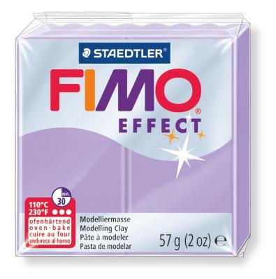 Ofenhärtende Modelliermasse Fimo, pastell-flieder