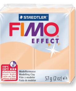 Ofenhärtende Modelliermasse Fimo, pastell-pfirsich
