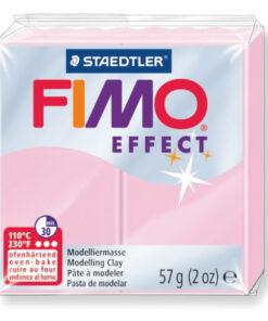 Ofenhärtende Modelliermasse Fimo, pastell-rosé