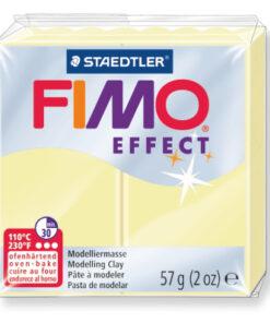 Ofenhärtende Modelliermasse Fimo, pastell-vanille