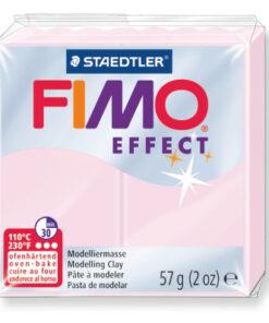 Ofenhärtende Modelliermasse Fimo, rosenquarz
