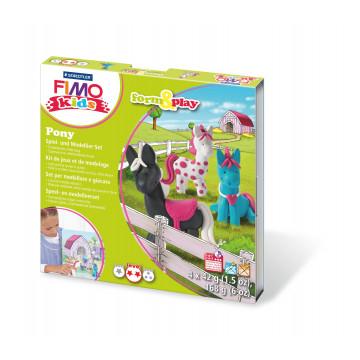 Staedtler FIMO kids form & play Pony, 1 Bastelset