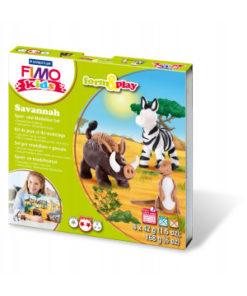 Staedtler FIMO kids, form&play, Bastelset Savannah