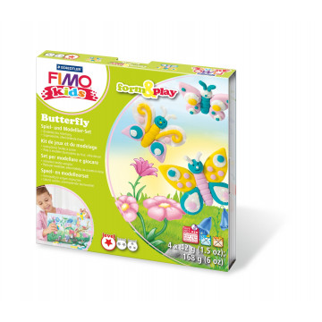 Bastelpackung Form Play, Schmetterlinge