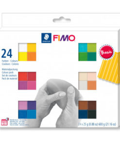 Staedtler Fimo Soft Materialpackung Basic Colours