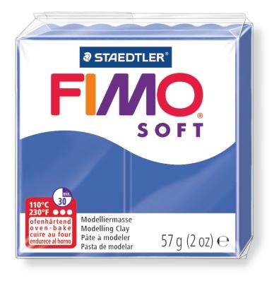 Ofenhärtende Modelliermasse Fimo, brillantblau