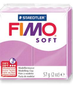 Ofenhärtende Modelliermasse Fimo, lavendel