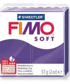 Ofenhärtende Modelliermasse Fimo, pflaume