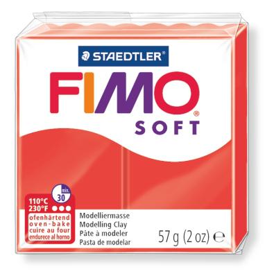 Ofenhärtende Modelliermasse Fimo, indischrot
