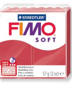 Ofenhärtende Modelliermasse Fimo, kirschrot