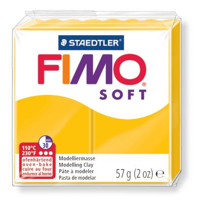Ofenhärtende Modelliermasse Fimo, sonnengelb
