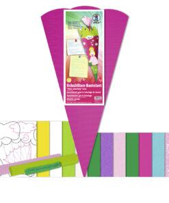 Schultüten-Material Prinzessin 2