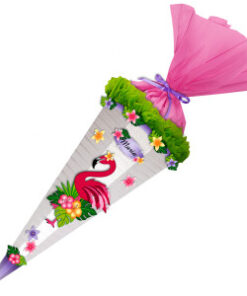 Ursus Bastel-Schultüte Easy Line Flamingo