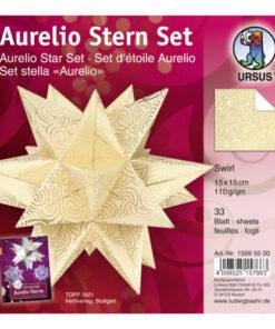 Aurelio-Stern Faltblätter Swirl