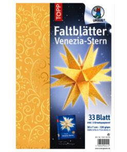 Ursus Venezia-Stern, Goldranken, 33 Blatt
