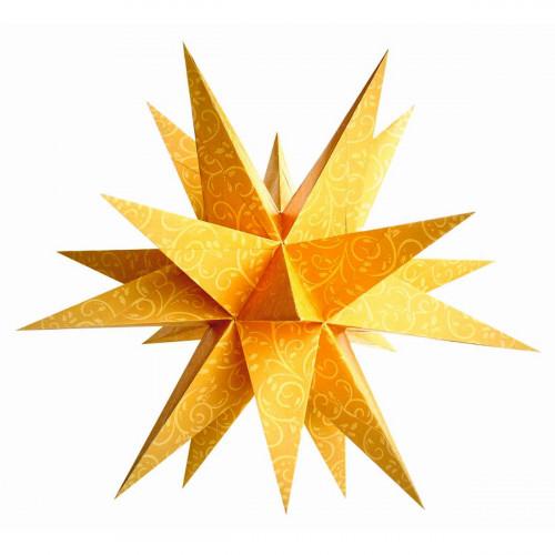 Faltblätter Venezia-Stern Goldranken, 33 Blatt