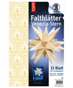 Ursus Faltblätter Venezia-Stern, Indian Style, 33 Blatt