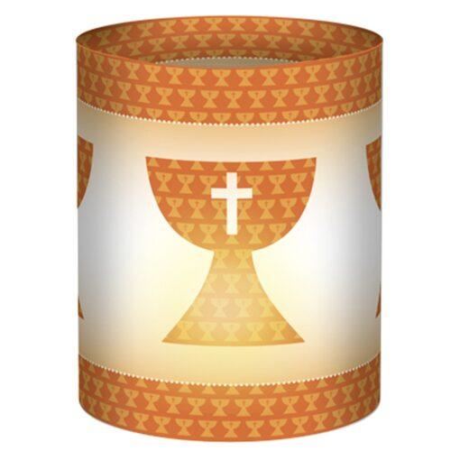 Ursus Mini-Tischlicht Joy orange, zum Basteln